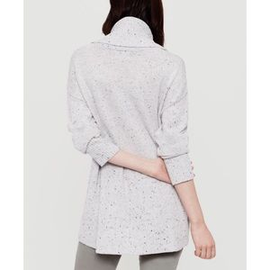 Lou & Grey Sweaters - Lou & Grey Speckled Cowl Neck Sweater